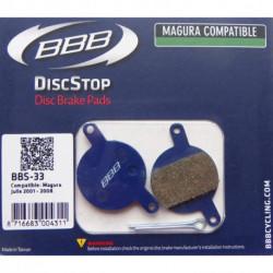Plaquettes Frein à Disque BBB BBS-33 Magura Julie (2001-2008)