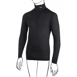 Polo Zip Sous-Vetements BRYNJE Sprint Col Montant - Noir : XL