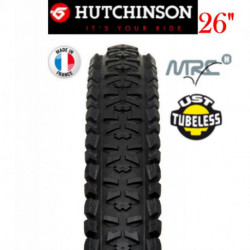 "Pneu Tubeless HUTCHINSON PIRANHA MRC High UST 26""x2.00 Souple"