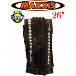 "Pneu Tubeless MAXXIS HIGH ROLLER 26"" Souple"