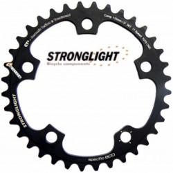 Plateau STRONGLIGHT CT2 110mm Compact Campagnolo 11Vit - 36T/38T