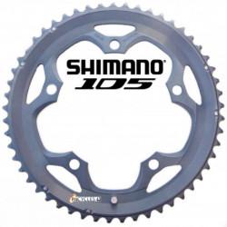 Plateau Shimano 105 FC-5600 130mm 10V Extérieur - 50T/53T