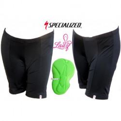 Cuissard Court SPECIALIZED Solid Sport Sans Bretelles Noir - Femme : L , XL