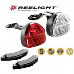 Éclairage Reelight SL150 Compact Avant + Arrière Fonctionne Sans Pile