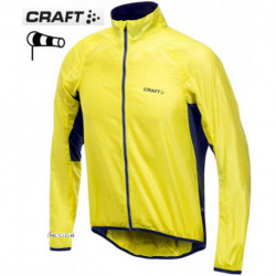 Coupe Vent CRAFT Performance Bike Light Jacket Jaune : M , L , XL