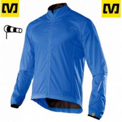 Coupe Vent Mavic ECHELON Jacket Manches Longues Bleu : M