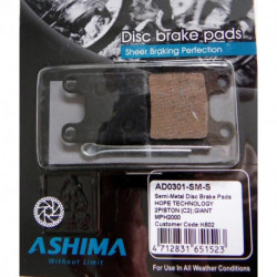 Plaquettes Frein à Disque Ashima HOPE TECHNOLOGY