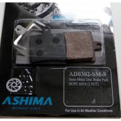 Plaquettes Frein à Disque Ashima HOPE MINI