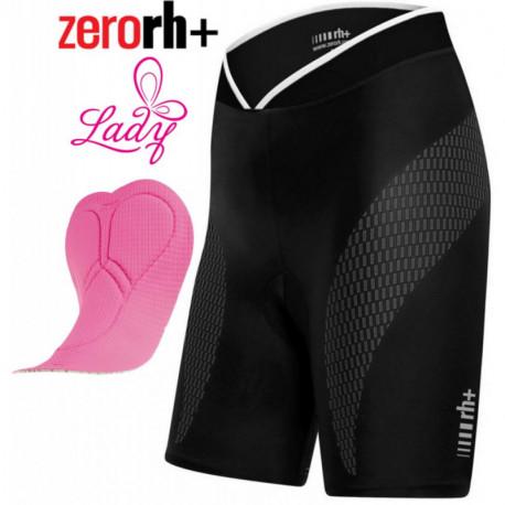 Cuissard Court Zerorh+ Stretch Control Sans Bretelles Noir - Femme : XS