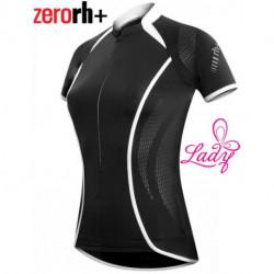 Maillot Zerorh+ Stretch Control Manches Courtes Noir Femme : XS