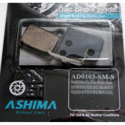 Plaquettes Frein à Disque Ashima SHIMANO DEORE M555