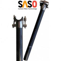 Tige de selle SASO Carbon 27.2/350mm 153g