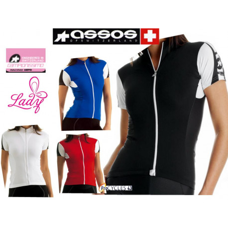 Maillot ASSOS SS.13 Lady Manches Courtes - S : L