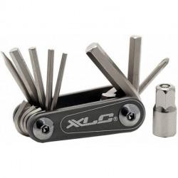Multi-outils XLC NANO TO-M081 - 9 fonctions