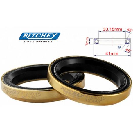 Ritchey,Cartouche Roulement,Imposition Roulement à Billes,41,0x6,5x45° 1 Pièce