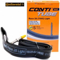 Chambre à Air CONTINENTAL Race Light - 700x20/25 - Valve 42/60/80mm