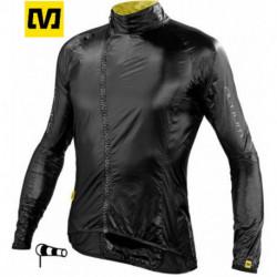 Coupe Vent Mavic HELIUM Jacket Manches Longues Noir : XL