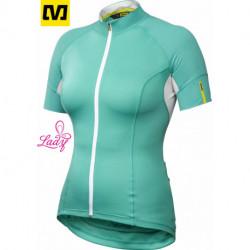 Maillot Mavic KSYRIUM ELITE Manches Courtes Turquoise : S