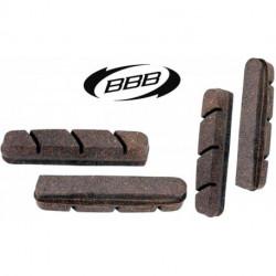 Patins BBB RoadStop BBS-03CC (Campagnolo) Jante Carbon x4