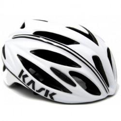 Casque KASK RAPIDO Blanc/Noir - 52/58cm