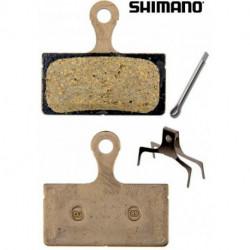 Plaquettes Frein à Disque Shimano G01S SLX / Alfine Résine