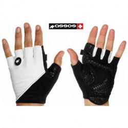 Gants ASSOS SummerGloves S7 Blanc/Noir : XXL