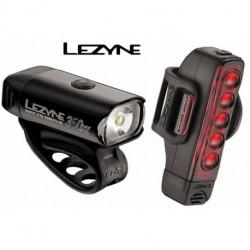 Éclairage LEZYNE Avant et Arrière HECTO DRIVE 350 XL / STRIP DRIVE