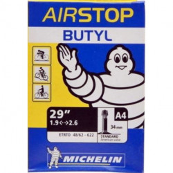 "Chambre à Air MICHELIN A4 Butyl 29""x1.90/2.60 Schrader"