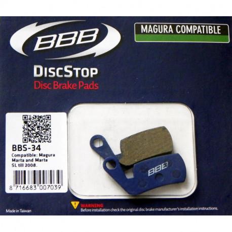 BBB DiscStop BBS-36 Magura Bleu Plaquette Frein