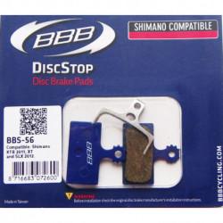 Plaquettes Frein à Disque BBB BBS-56 Shimano XTR 2011,XT et SLX 2012