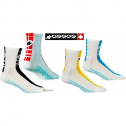 Chaussette ASSOS SummerSocks MILLE Regular - (35-38)
